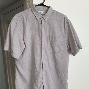 **3 for 20 Old Navy Linen Short Sleeve Button Down